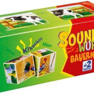 Kosmos Kinderspiele 442865 - Soundwürfel Bauernhof