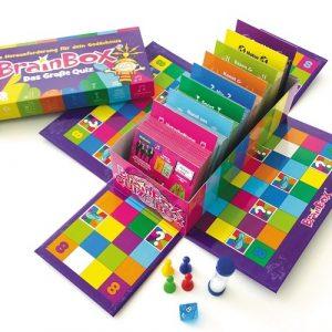 Carletto 2094998 - BrainBox - Das Große Quiz