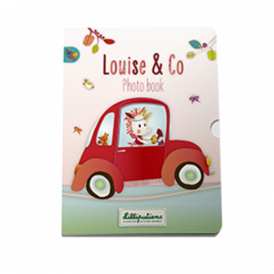 Lilliputiens 86477 - Fotobuch Louise & Co Smart Wonders
