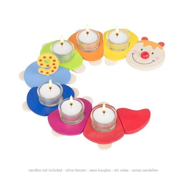 Goki 60865 - Geburtstagsraupe Camila Toys