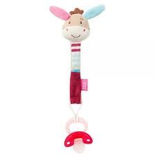 Schnullerkettchen Esel - Babyfehn 4001998081176