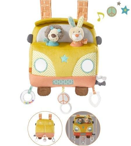 Fehn 066128 - LED Spieluhr Bus
