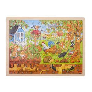 Puzzle Holzpuzzle Einlegepuzzle Deutschland Bundesländer Goki 57860
