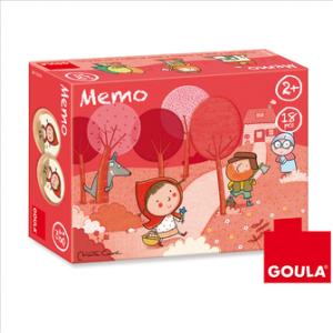 Memo Rotkäppchen Goula 8410446534366