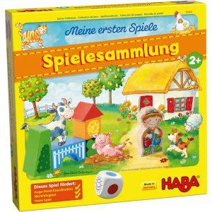 Haba 304223 - Meine ersten Spiele - Spielesammlung