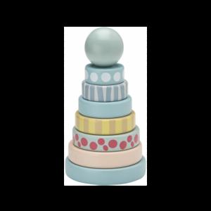Ringturm Edvin blau Kids Concept 7340028726296