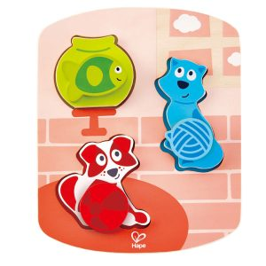Dynamisches Tierpuzzle Hape 6943478017801