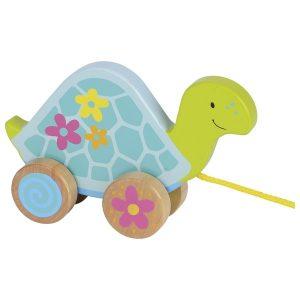 Goki 54914 - Ziehtier Schildkröte, Susibelle