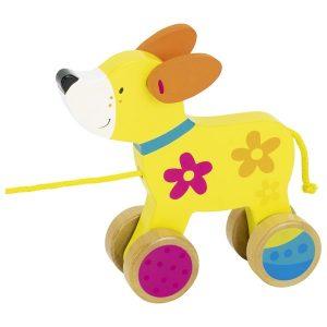 Goki 54915 - Ziehtier Hund, Susibelle