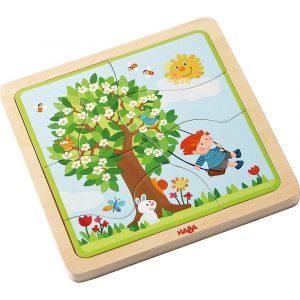 Holzpuzzle Lieblingsjahreszeit Haba 302529