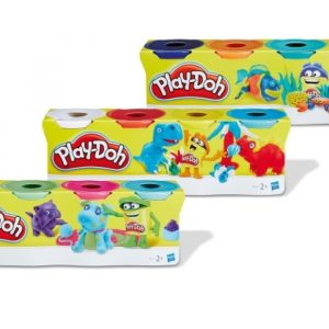 Vedes 63212857 - Play-Doh 4er Pack Knete