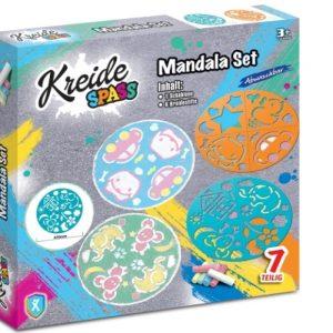 Vedes 65859211 - KREIDESPASS Mandala Set, 2-fach sortiert
