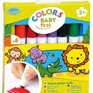 Carletto 3042016 - 8 Filzstifte Baby