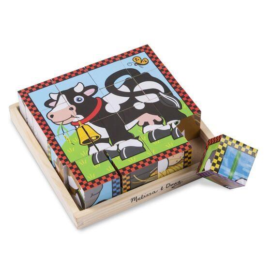 Würfelpuzzle_Bauernhoftiere_Melissa_und_Doug