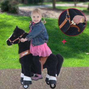 PonyCycle - Reitpferd (Pferd) - schwarz - UX326