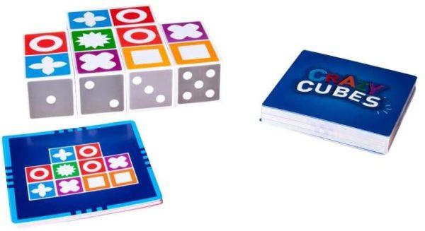 CrazyCubes Denkspiel, Aufgabenkarten